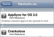 安裝 Apps 同步破解軟件 (AppSync)